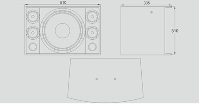 音箱的结构示意图